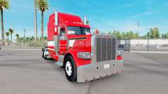 Red Dragon skin for the truck Peterbilt 389