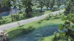 Small river for Spin Tires