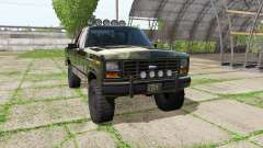 Ford F-150 Ranger 1984 for Farming Simulator 2017