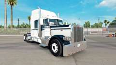 Skin Black & White for the truck Peterbilt 389
