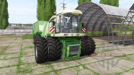 Krone BiG X 1100 cargo for Farming Simulator 2017