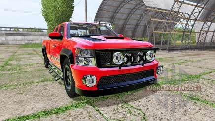 Chevrolet Silverado Extended Cab for Farming Simulator 2017