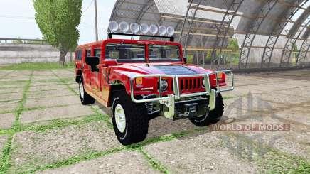 Hummer H1 for Farming Simulator 2017