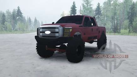 Ford F-350 Super Duty Crew Cab 2012 for MudRunner