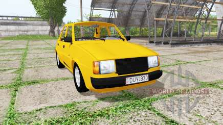 Skoda 120L v2.0 for Farming Simulator 2017