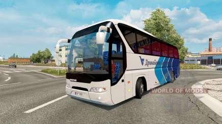 Bus traffic v1.6 for Euro Truck Simulator 2
