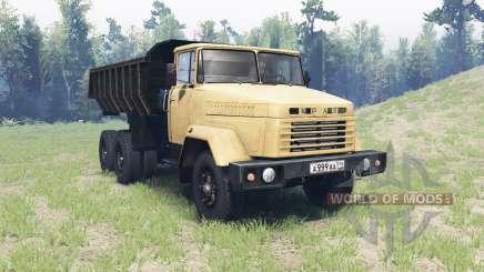 KrAZ 6510 for Spin Tires