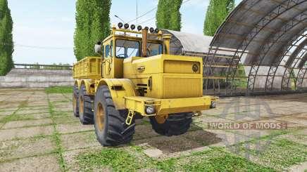 Kirovets K 701 6x6 dumper v1.2 for Farming Simulator 2017