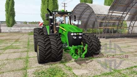 John Deere 7830 v1.2 for Farming Simulator 2017