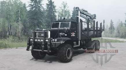 KrAZ 255 B1 Crocodile for MudRunner