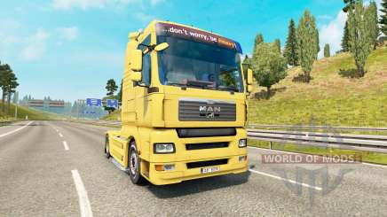 MAN TGA v1.4 for Euro Truck Simulator 2
