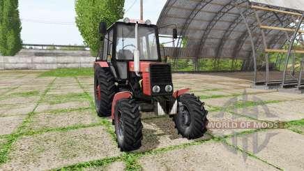 MTZ Belarus 82.1 v1.2 for Farming Simulator 2017