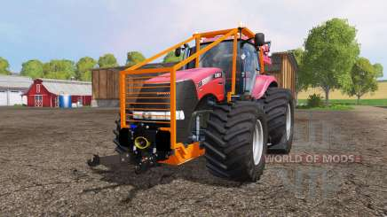 Case IH Magnum CVX 380 forest for Farming Simulator 2015