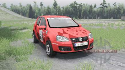 Volkswagen Golf V GTI for Spin Tires