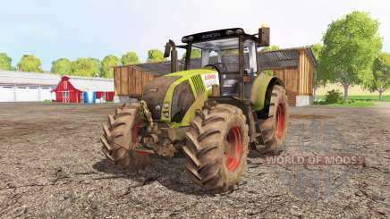 CLAAS Axion 820 front loader for Farming Simulator 2015