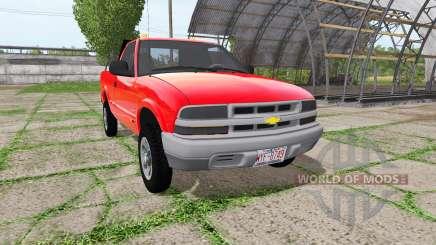 Chevrolet S-10 Regular Cab for Farming Simulator 2017