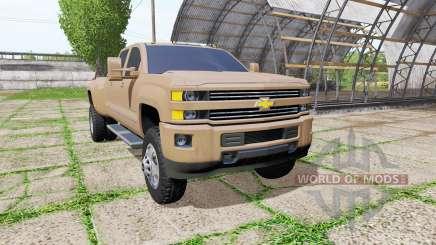 Chevrolet Silverado 3500 HD Crew Cab for Farming Simulator 2017