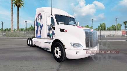 Nico skin for the truck Peterbilt 579 for American Truck Simulator