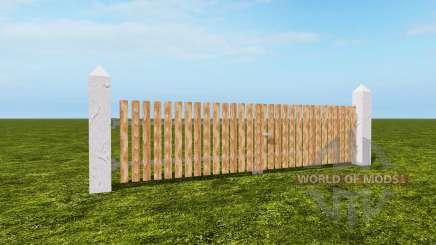 The fence for Farming Simulator 2017