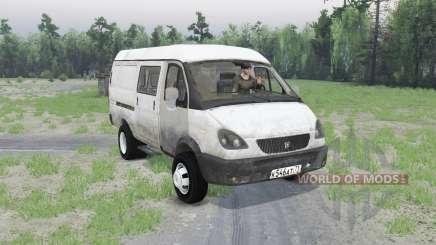 GAZ 2705 GAZelle v1.01 for Spin Tires