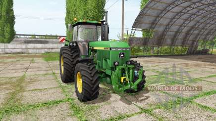 John Deere 4955 v2.1 for Farming Simulator 2017