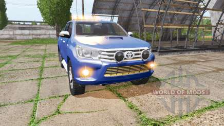 Toyota Hilux Double Cab for Farming Simulator 2017