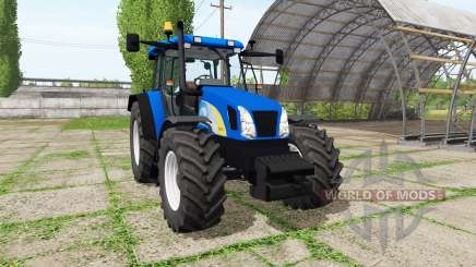 New Holland T5070 v2.0 for Farming Simulator 2017