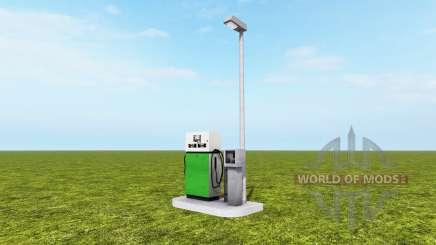 Gas station v1.0.1 for Farming Simulator 2017