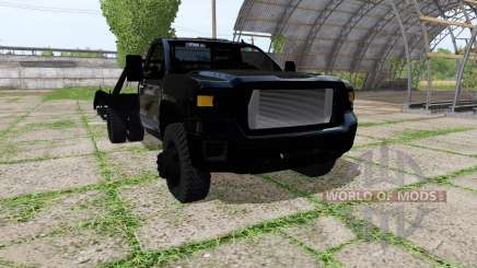 GMC Sierra tow truck for Farming Simulator 2017