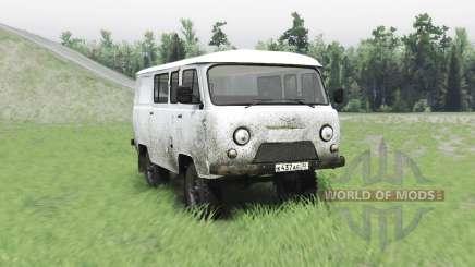 UAZ 3909 Loaf for Spin Tires