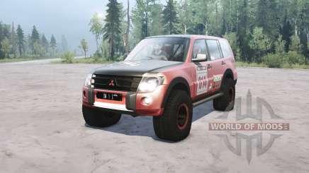 Mitsubishi Montero for MudRunner