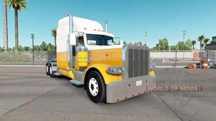 Skin Cream Gold for the truck Peterbilt 389 for American Truck Simulator