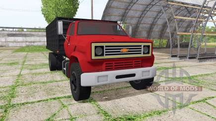 Chevrolet C70 dump v1.2.1 for Farming Simulator 2017