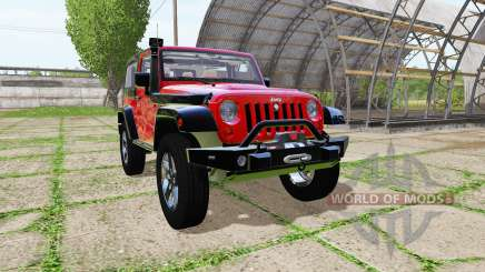 Jeep Wrangler Rubicon (JK) for Farming Simulator 2017