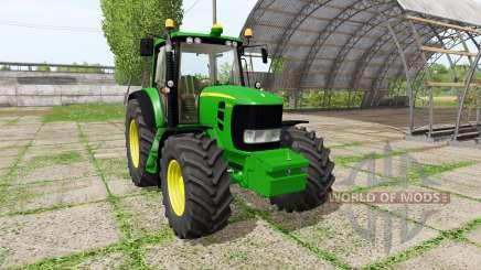John Deere 7430 Premium v1.1 for Farming Simulator 2017