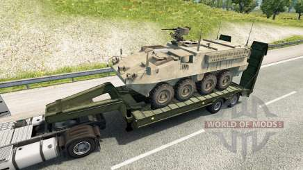 Military cargo pack v2.2 for Euro Truck Simulator 2
