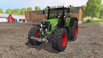 Fendt 820 Vario front loader for Farming Simulator 2015