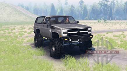 Chevrolet K5 Blazer 1982 for Spin Tires