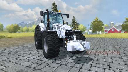 Deutz-Fahr Agrotron 7250 TTV arctic camo for Farming Simulator 2013