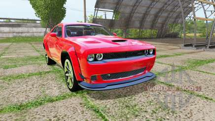 Dodge Challenger SRT Hellcat (LC) for Farming Simulator 2017