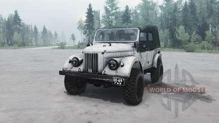 GAZ 69A for MudRunner