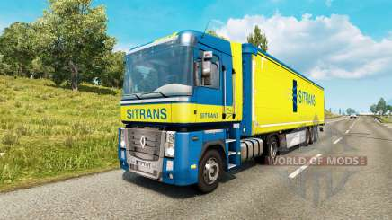 Painted truck traffic pack v3.0 for Euro Truck Simulator 2