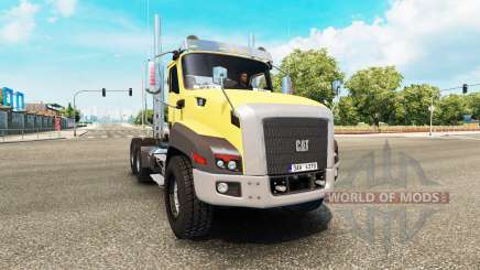 Caterpillar CT660 v2.0 for Euro Truck Simulator 2
