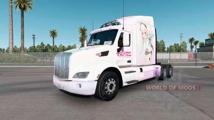 Super Sonico skin for the truck Peterbilt 579 for American Truck Simulator