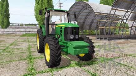 John Deere 6165J for Farming Simulator 2017