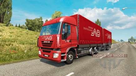 Tandem truck traffic v1.6.1 for Euro Truck Simulator 2