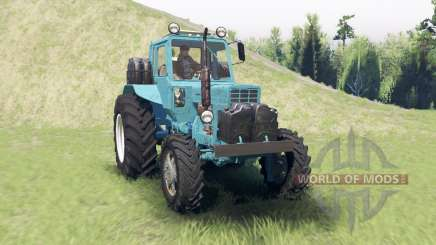 MTZ 82 Belarusian for Spin Tires
