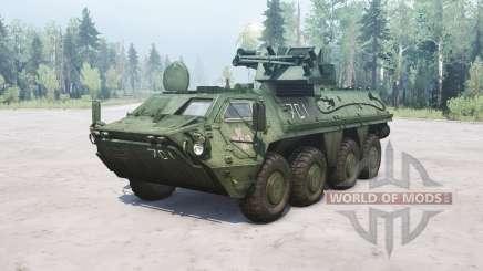 BTR-4E Bucephalus for MudRunner