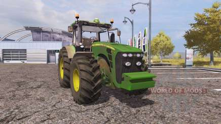 John Deere 8345R v2.0 for Farming Simulator 2013