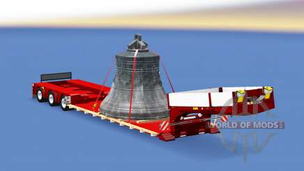 Doll Vario with big bell for Euro Truck Simulator 2